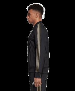 adidas Juventus Presentatie Trainingsjack 2018-2019 Black zijkant