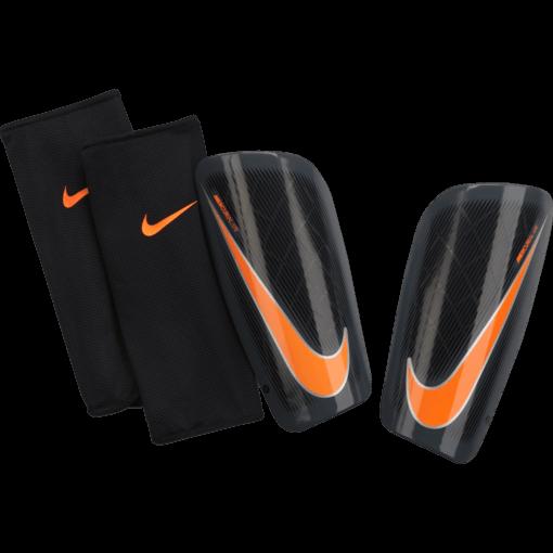 Nike Mercurial Lite Scheenbeschermers Black Orange