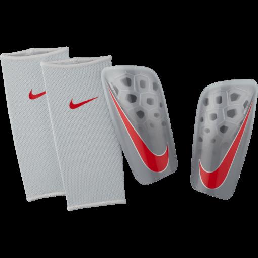 Nike Mercurial Lite Scheenbeschermers Pure Platinum