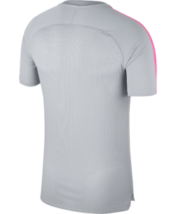 Nike Paris Saint-Germain Dry Squad Trainingsshirt 2018-2019 Wolf Grey Hyper Pink achterkant