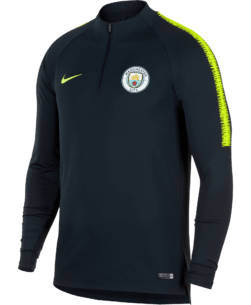 Nike Manchester City Dry Squad Drill Trainingstrui 2018-2019 Dark Obsidian
