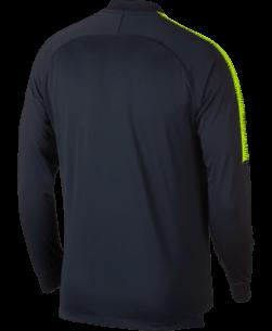 Nike Manchester City Dry Squad Trainingsjack 2018-2019 Dark Obsidian achterkant