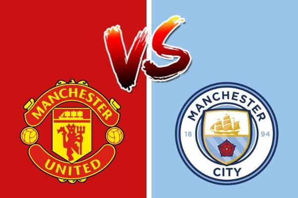 Vergelijking tussen Manchester United en Manchester City