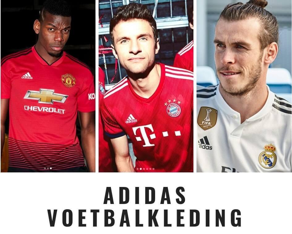 europese topclubs die in adidas voetbalkleding spelen