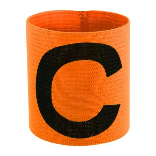 De Stanno Aanvoerdersband Oranje is een elastische aanvoerdersband.