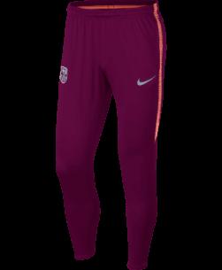 Nike FC Barcelona Dry Squad Trainingsbroek 2018-2019 Deep Maroon