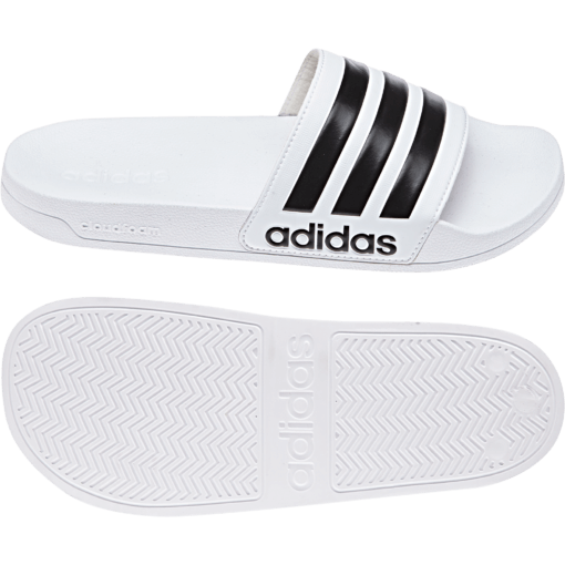adidas Cloudfoam Adilette Slippers White