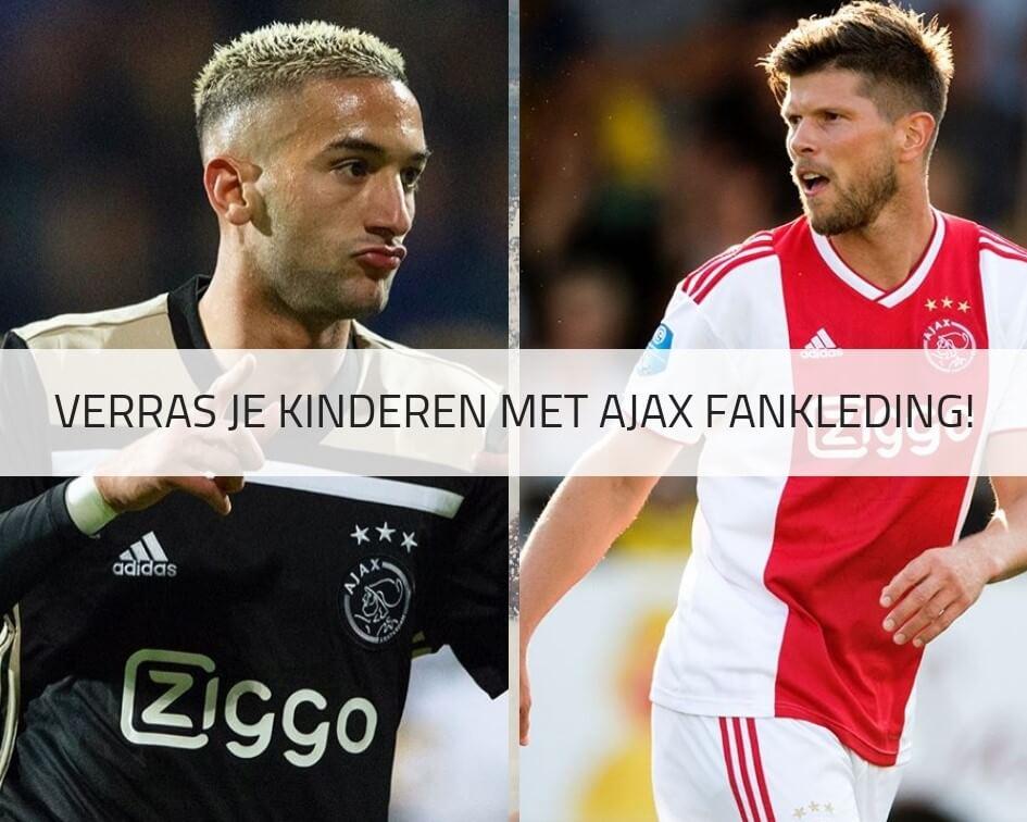 Ajax voetbalkleding voor kinderen