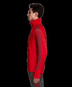 adidas Bayern München Trainingstrui 2018-2019 Red Ivy zijkant