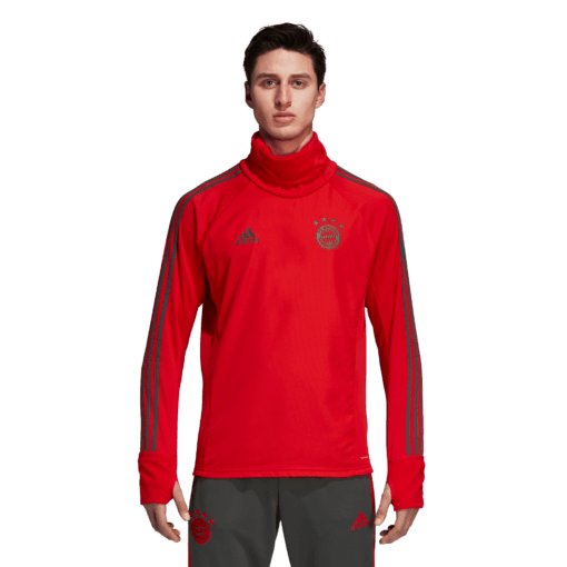 adidas Bayern München Trainingstrui 2018-2019 Red Ivy