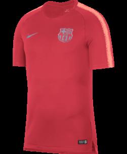 Nike FC Barcelona Breathe Squad Trainingsshirt 2018-2019 Tropical Pink