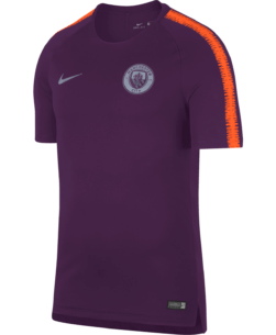 Nike Manchester City Breathe Squad Trainingsshirt 2018-2019 Night Purple