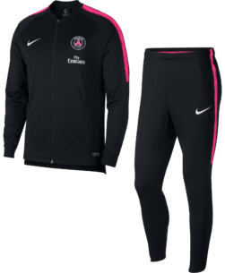 Nike Paris Saint-Germain Dry Squad Trainingspak 2018-2019 Black Pink