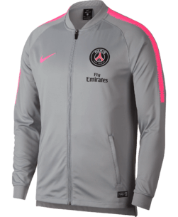 Nike Paris Saint-Germain Dry Squad Trainingspak 2018-2019 Wolf Grey Pink