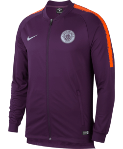 Nike Manchester City Dry Squad Trainingsjack 2018-2019 Night Purple