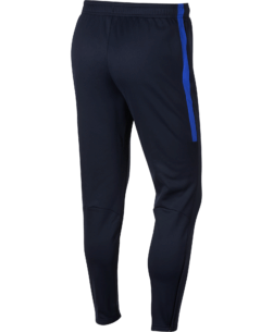Nike Therma Academy Trainingsbroek Kids Black Royal Blue achterkant