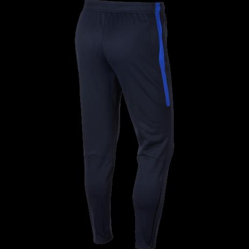 Nike Therma Academy Trainingsbroek Kids Black Royal Blue achterkant