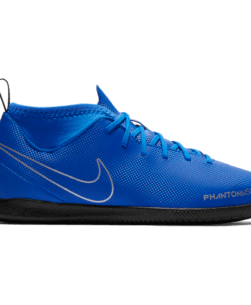 Nike Kids Phantom Vision Academy Dynamic Fit IC Racer Blue Metallic