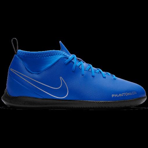 Nike Kids Phantom Vision Academy Dynamic Fit IC Racer Blue Metallic