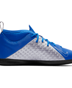 Nike Kids Phantom Vision Academy Dynamic Fit IC Racer Blue Metallic binnenkant