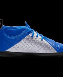 Nike Kids Phantom Vision Academy Dynamic Fit IC Racer Blue Metallic binnenkant