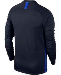 Nike Therma Academy Sweater Kids Obsidian Hyper Royal achterkant