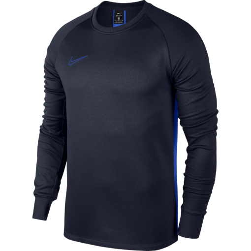 Nike Therma Academy Sweater Kids Obsidian Hyper Royal