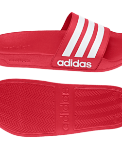 adidas Cloudfoam Adilette Slippers Red
