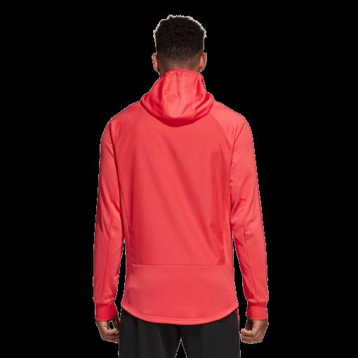 adidas Manchester United Trainingstrui 2018-2019 Blaze Red achterkant