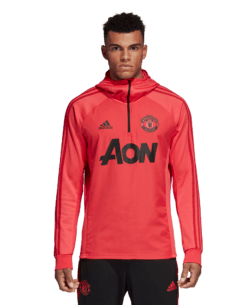adidas Manchester United Trainingstrui 2018-2019 Blaze Red