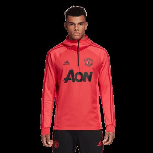 adidas Manchester United Trainingstrui 2018-2019 Blaze Red