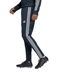 adidas Real Madrid Trainingsbroek 2018-2019 Blue Core White zijkant