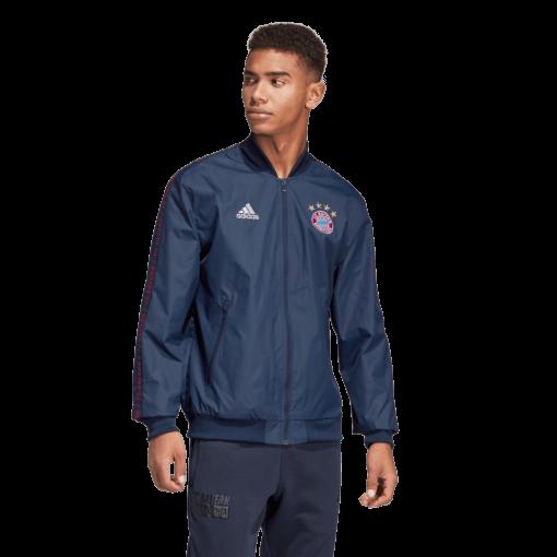 adidas Bayern München Anthem Jacket 2018-2019 Collegiate Navy