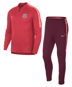 Nike FC Barcelona Dry Squad Drill Trainingspak 2018-2019 Coral