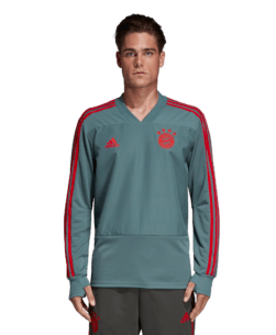 adidas Bayern München Trainingstrui 2018-2019 Raw Green Red