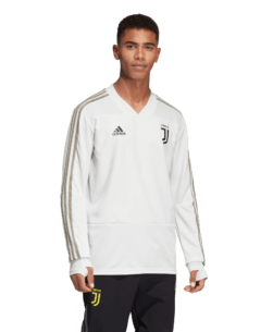 adidas Juventus Trainingstrui 2018-2019 White Tint