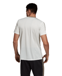 adidas Juventus Trainingsshirt 2018-2019 White Tint achterkant