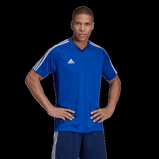Adidas-Tiro19-Voetbalshirt-Blauw