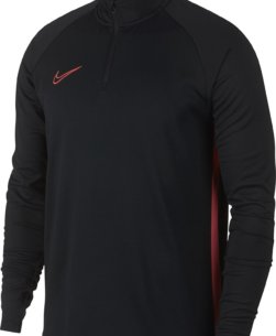 Nike Dry Academy Drill Trainingstrui Black Ember Glow