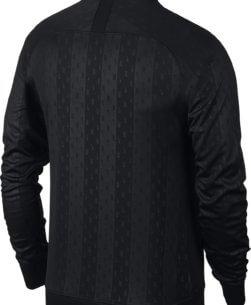 Nike Dry Academy Trainingsjack Black White achterkant