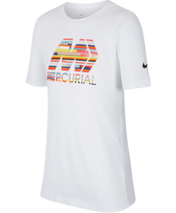 Nike Kids Dri-FIT Mercurial Voetbalshirt White