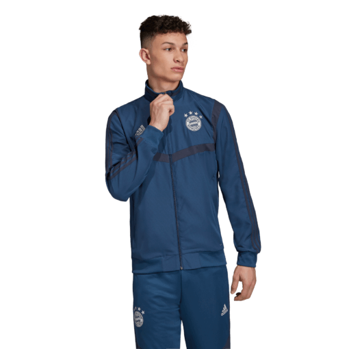 adidas Bayern München Presentatie Trainingsjack 2019-2020 Night Marine