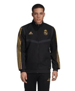 adidas Real Madrid Presentatie Trainingsjack 2019-2020 Black