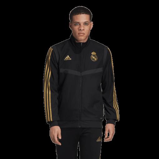 adidas Real Madrid Presentatie Trainingsjack 2019-2020 Black