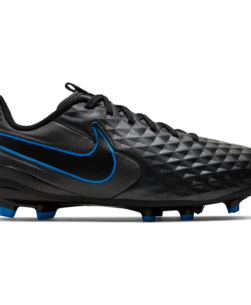 Nike Jr. Tiempo Legend 8 Academy MG Black Blue Hero