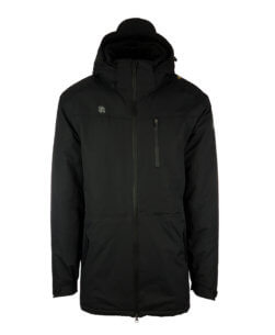 Robey Parka Coach Jacket - Black