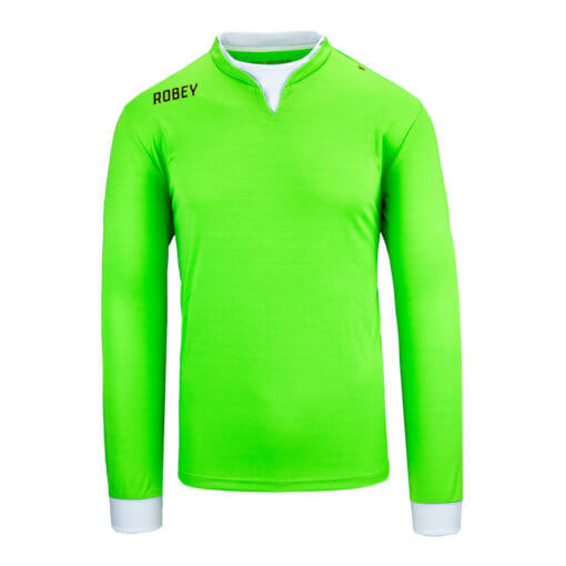 Robey Catch Goalkeeper LS Shirt - Neon Green