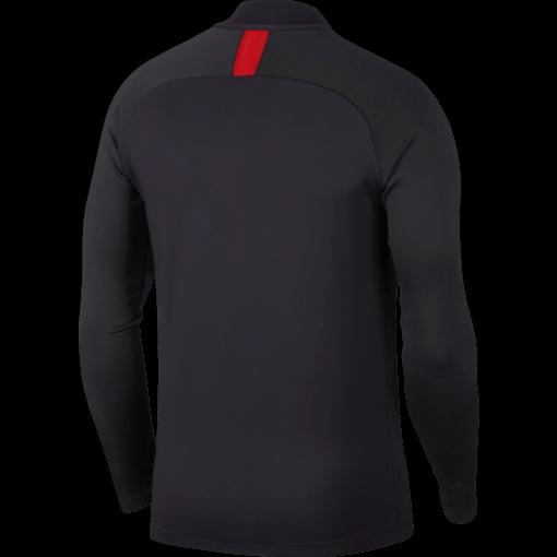 Nike Paris Saint-Germain Strike Trainingstrui 2019-2020 Oil Grey University Red achterkant