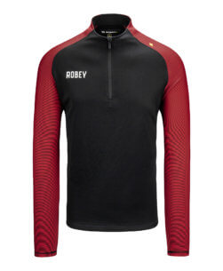 Robey Performance Half-Zip Top - Red