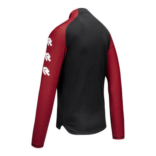 Robey Performance Half-Zip Top - Red Zijkant